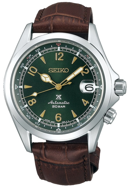 Seiko Prospex Alpinist Green with Cyclops SBDC091