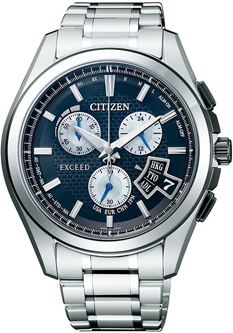 Citizen Exceed BY0064-53E Eco-Drive Solar Atomic