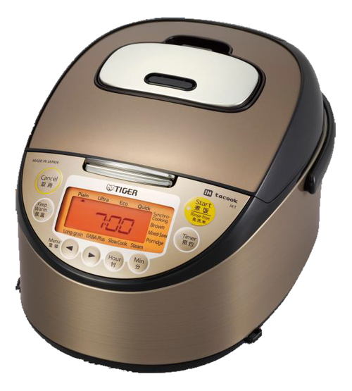 Tiger IH Rice Cooker Made In Japan 10 Cups JKT-W18W