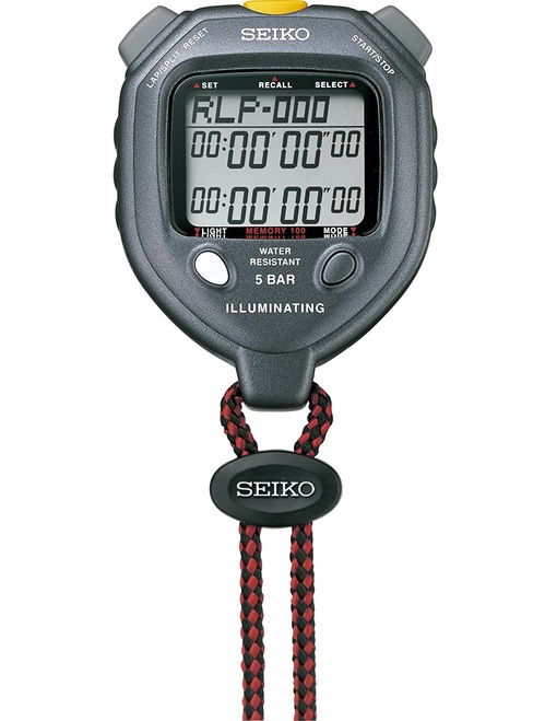 Seiko S058 Electrolumines cent 100 Memory Stopwatch