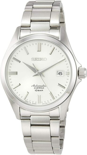 Seiko Mechanical Automatic White Ivory Dial SZSB011
