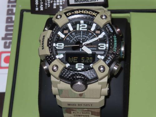 G-Shock x British Army Mudmaster GG-B100BA