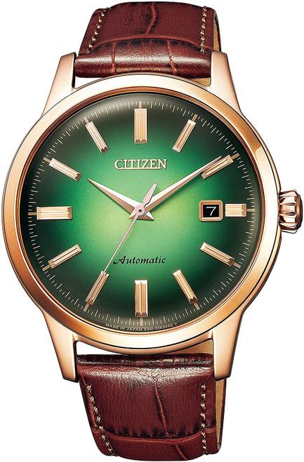 Citizen Mechanical Retro Green Dial NK0002-14W