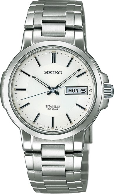 Seiko Quartz Titanium SCDC055 Men's Watch