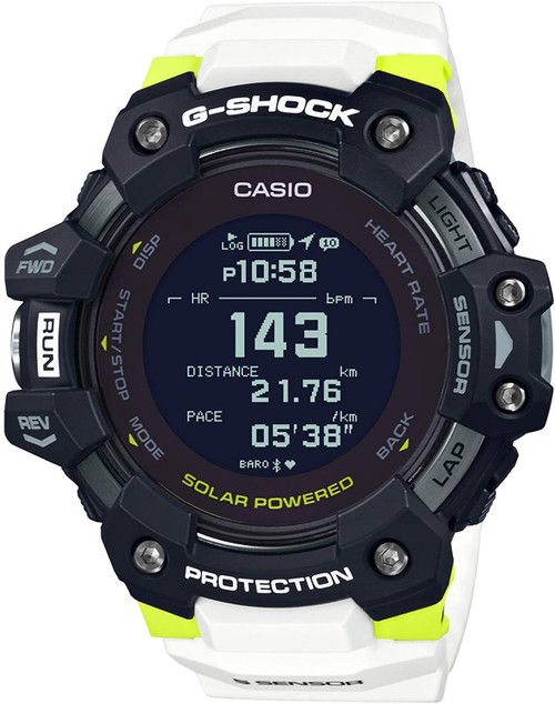 Casio G-SQUAD Heart Rate Monitor GBD-H1000-1A7JR