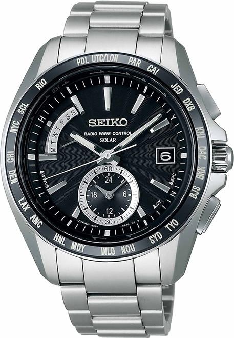 Seiko Brightz Radio Solar Comfortex Titanium SAGA159