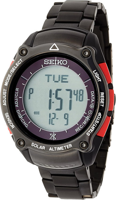 Seiko Prospex Digital Alpinist Miura Dolphins SBEB019
