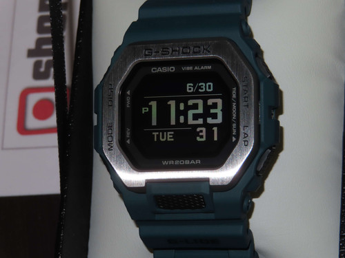 Casio G-lide Bluetooth Blue GBX-100-2JF