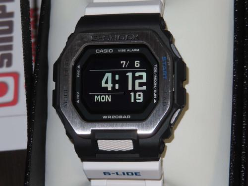 Casio G-lide Surfing Watch GBX-100-7JF White