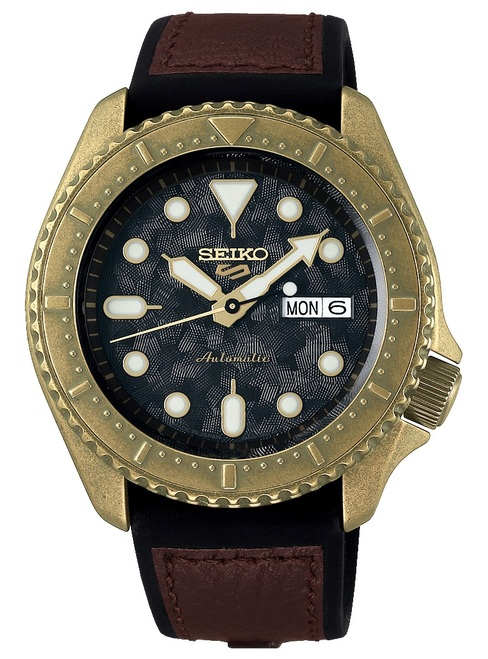 Seiko 5 Bronze Diver JDM version SBSA072 / SRPE80K1