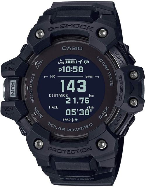G-SQUAD Heart Rate Solar GPS GBD-H1000 (Black)
