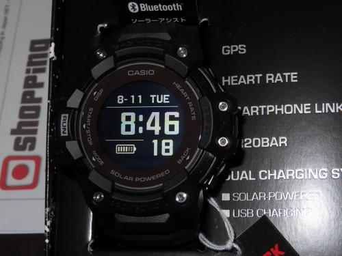 G-SQUAD Heart Rate Solar GPS Black GBD-H1000-1JR