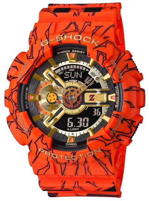Dragon Ball Z x G-Shock GA-110JDB-1A4JR Limited 2020