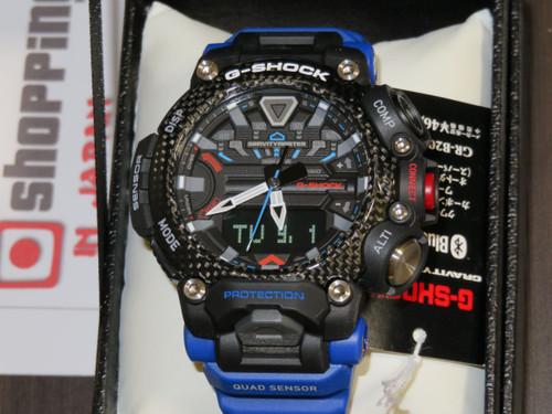 Gravitymaster Step Tracker Black and Blue GR-B200-1A2JF