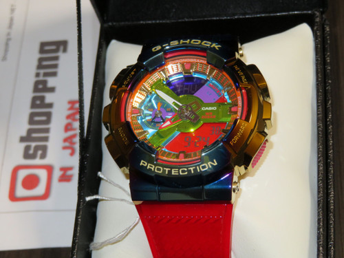 G-Shock Metalized Gold Rainbow GM-110RB-2AJF