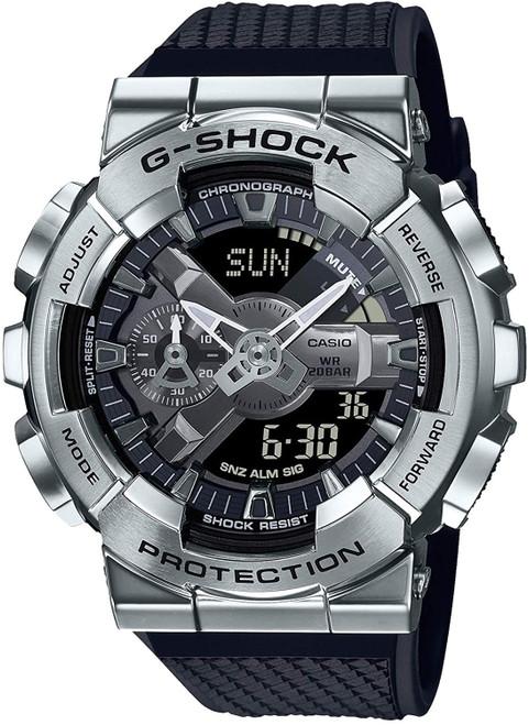 G-Shock Metalized Silver Analog Digital GM-110-1AJF