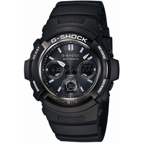 G-Shock Garish Black AWG-M100BW-1AJF