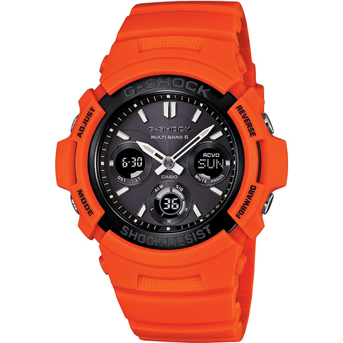G-Shock Rescue Orange Series AWG-M100MR-4AJF