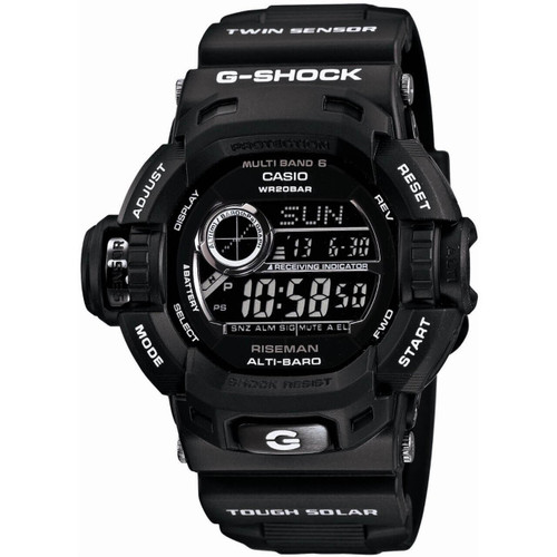 Casio G-Shock Riseman GW-9200BWJ-1JF Garish Black