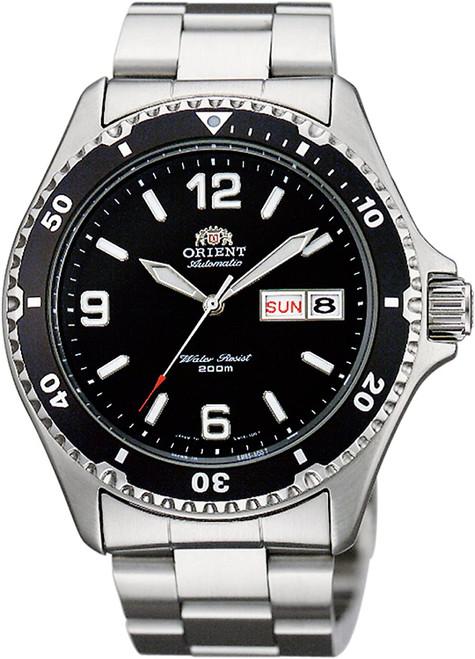 Orient MAKO II Black Automatic SAA02001B3 / AA02001B