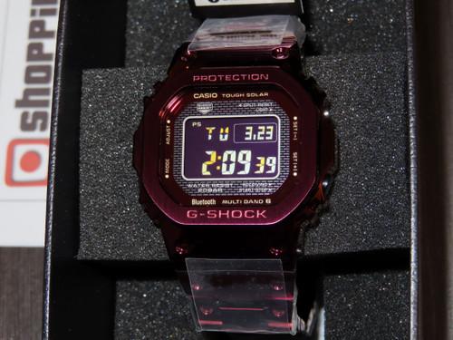 G-Shock Full Metal Red IP Bluetooth GMW-B5000RD-4JF