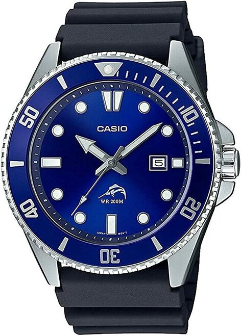 Casio Divers 200m MDV-106B-2AV Bill Gates Blue Dial