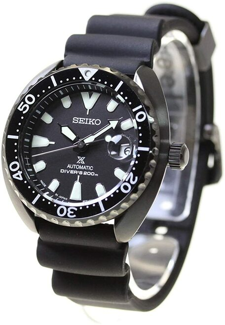 Seiko Baby Turtle Japan Limited PVD Black SBDY087
