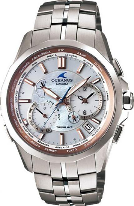Casio Oceanus OCW-S2400PG-7AJF Manta Multiband
