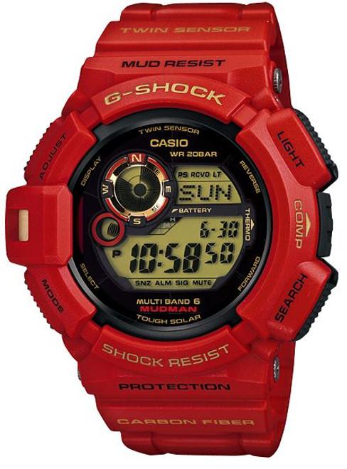 Casio G-Shock GW-9330A-4JR Mudman Rising Red