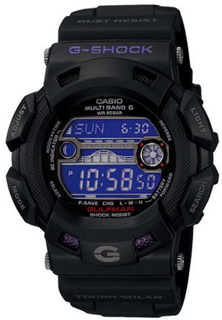 Casio Gulfman GW-9110BP-1JF Men in Dark Purple