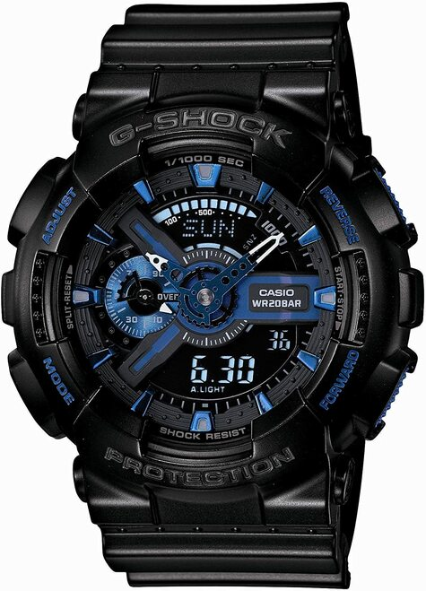 Casio G-shock Initial Blue GA-113B-1AJR 30th Anniversary