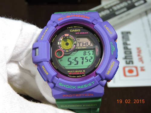 G-Shock Earthwatch GW-9301K-6JR Mudman