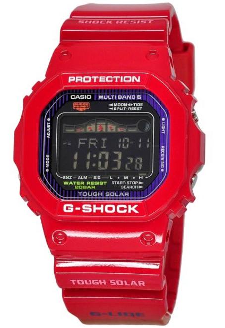 Red Casio G-Shock Tough Solar Watch