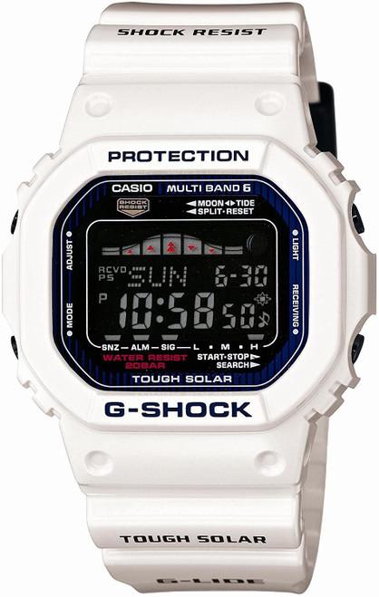 Casio G-Shock G-lide GWX-5600C-7JF White