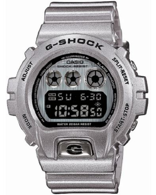 Silver Casio G-Shock 30th Anniversary