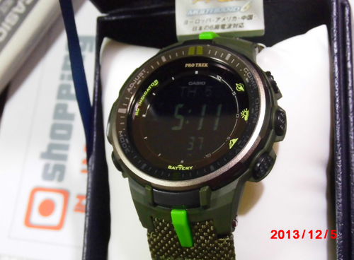 Casio Protrek PRW-3000B-3JF Triple Sensor