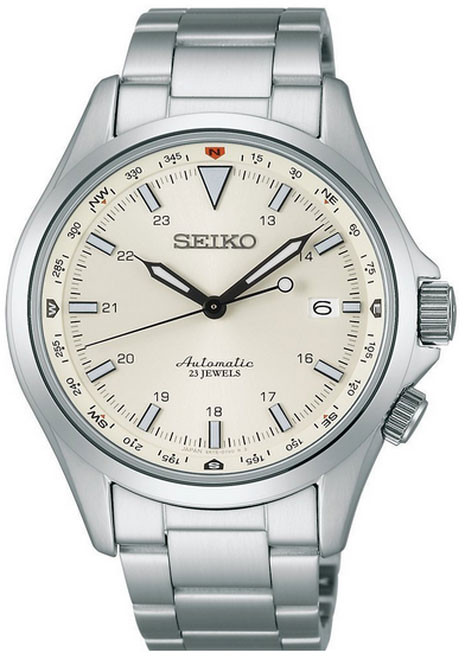 Seiko Mechanical Alpinist SARG001 Stainless Steel Bracelet