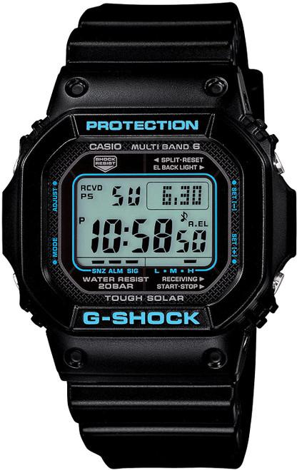 G-Shock GW-M5610BA-1JF Black & Blue Series