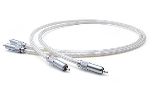 Oyaide AZ-910 1.3m Pure Silver RCA Cable
