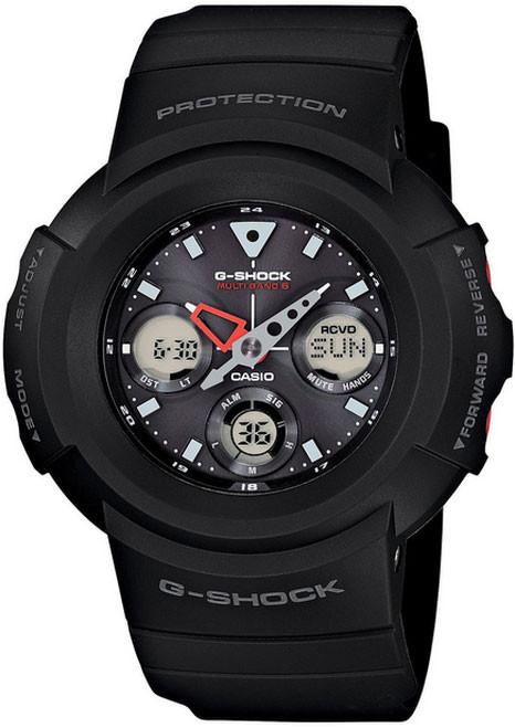 Black Casio G-Shock Multiband 6 Watch