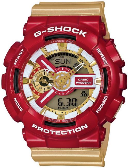 Casio G-Shock Ironman Crazy Color Watch