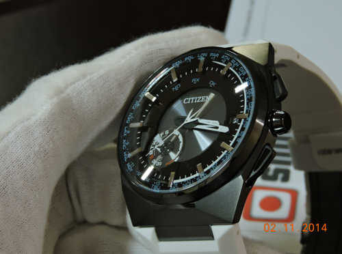 Citizen F100 Satellite Wave Limited Edition