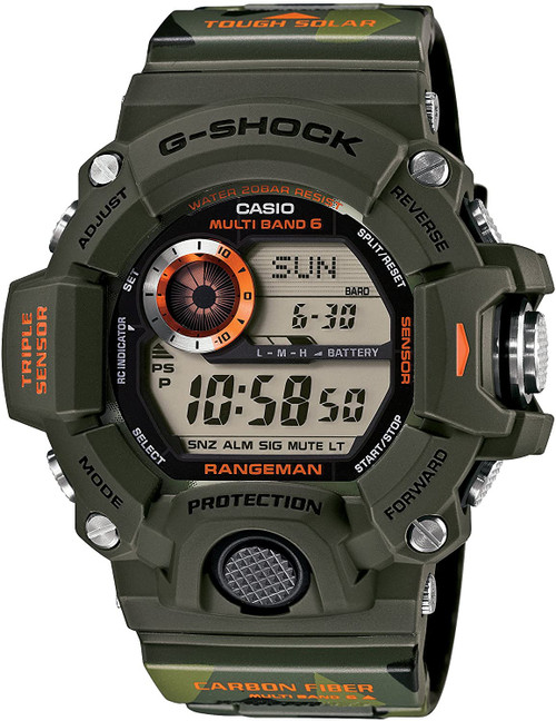 Casio Rangeman GW-9400CMJ-3JR Men in Camouflage