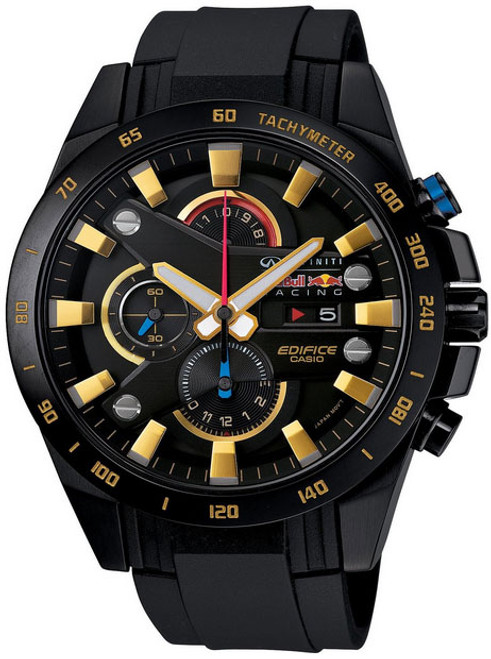 Black Casio Edifice Red Bull Racing Infiniti