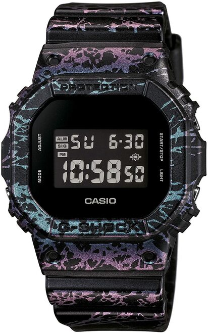 G-Shock DW-5600PM-1 Polarized Marble