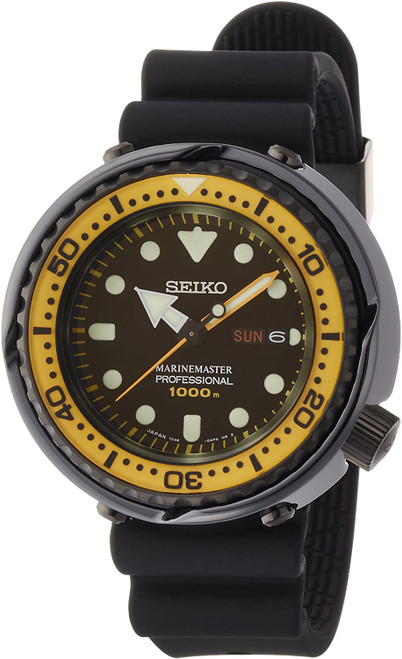 Prospex SBBN027 Marinemaster Tuna Yellow Bezel