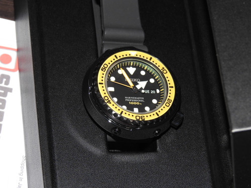 Prospex SBBN027 Marinemaster Tuna Yellow Bezel