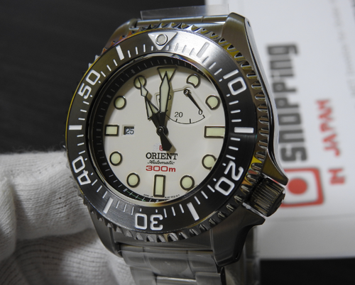 Orient Saturation Diver 300m WV0121EL