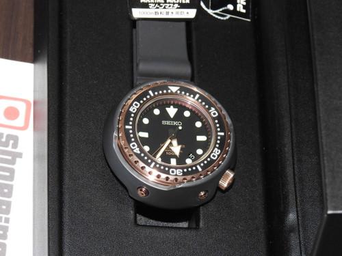 Seiko SBDX014 Marinemaster Emperor Tuna Rose Gold