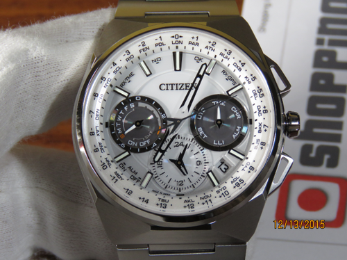 Citizen F900 Satellite Wave CC9000-51A